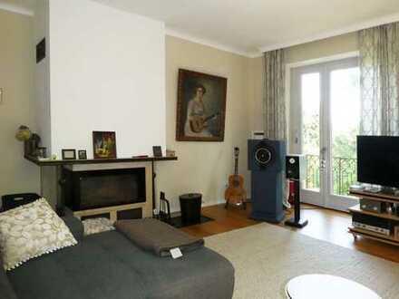 AUMÜLLER-Immobilien-Charmante 4-Zi-Wohnung mit zwei Bädern und Garage in ruhiger Lage von Bad Orb
