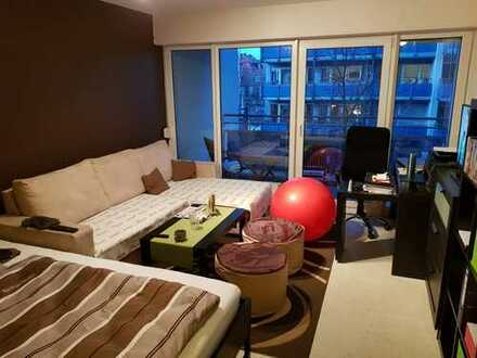 Sanderau 35 qm 1-Zimmer-Wohnung mit Balkon und TG frei ab sofort