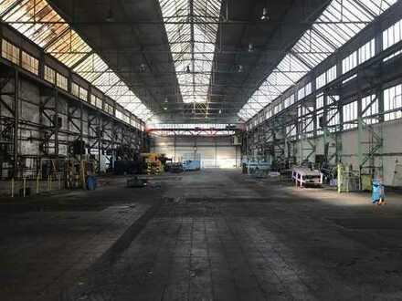 Produktionshalle 3.933 m² Kranbahn, Büro, Freifläche im Industriegebiet 56564 Neuwied zu vermieten