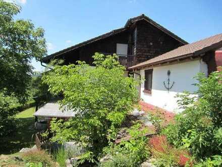 Illmensee Ruschweiler, schönes 3 FH mit Seesicht, 300qm, 958qm DoG, Garten, Bj 80