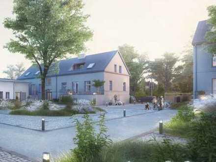Historischer Vierseitenhof: Große 5-Zimmer-Wohnung mit West-Terrasse und Denkmal AfA