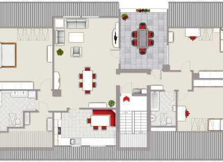 Schöne, geräumige vier Zimmer Wohnung in Witten-Bommern - Top Lage
