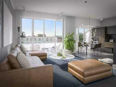 Im Herzen von Charlottenburg - Penthouse mit spektakulärem Dachgarten & Concierge-Service