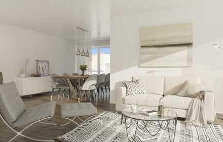 Große 3-Raum-Wohnung im Neubau im Charlottenviertel