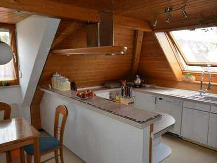 sonnige Dachgeschosswohnung