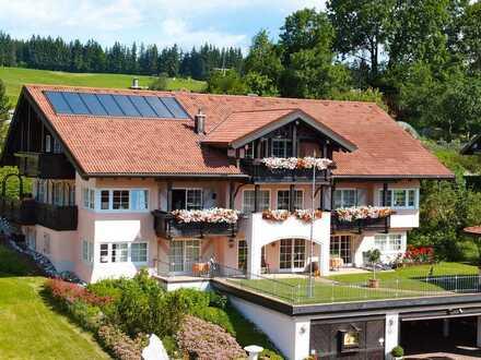 Traumhafte 4 ZKB in ruhiger Panoramalage von Wertach/Allgäu