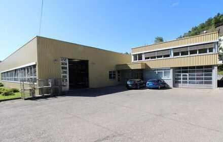 Starten Sie durch! - Gepflegte Produktionshalle mit Verwaltungsgebäude und Lagerhalle