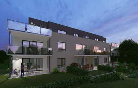 Gartengeschoss 2,5 Zimmer mit Terrasse und 34m² Gartenanteil
