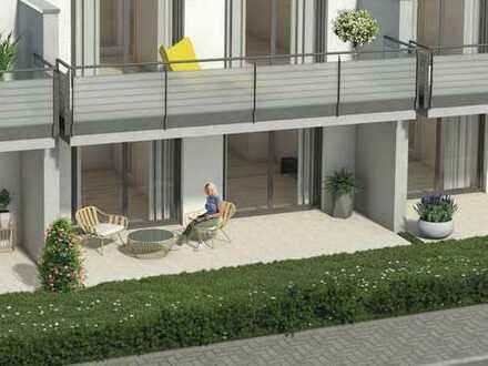 Gemütliche 2-Zimmer Wohnung mit Gartenanteil in guter Lage von Oßweil