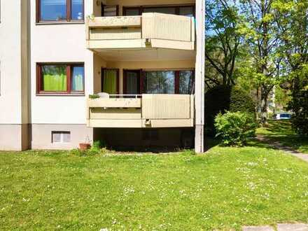 3-Zimmer-EG-Wohnung mit Balkon und Loggia in Weinheim-West
