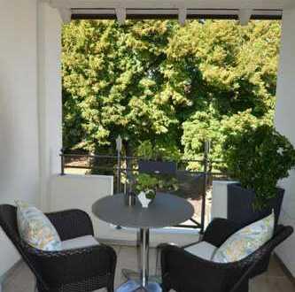 Aschaffenburg: Wohnen am Schloßpark  Wunderschöne 3-Zimmer-Maisonettewohnung mit Balkon