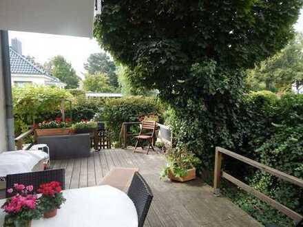 Maisonettewohnung mit großzügiger Terrasse in Alt-Lankwitz