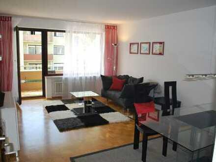 Helle, ruhige, gepflegte 2-Zimmer-Wohnung mit Balkon und EBK in Dachau