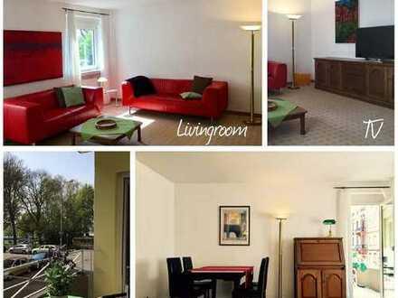 Schicke Single-Wohnung, möbliert in bester Lage