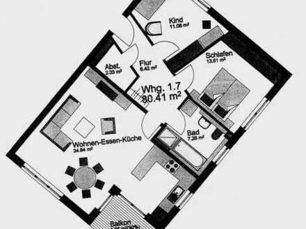 3 1/2 Zimmer Wohnung für Jung und Alt