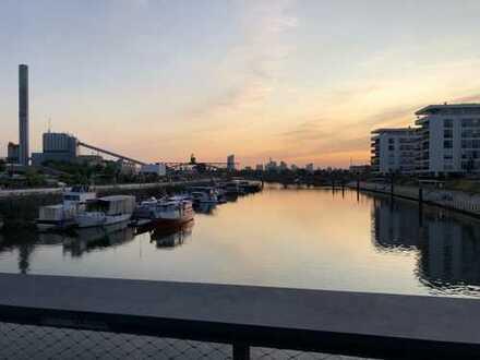 Wunderschöner Wasserblick, OF Hafencity, Erstbezug, luxuriöse Ausstattung, 3.5 Zimmer