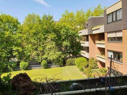 Wohnung mit grünem Ausblick - Balkon in West-Ausrichtung