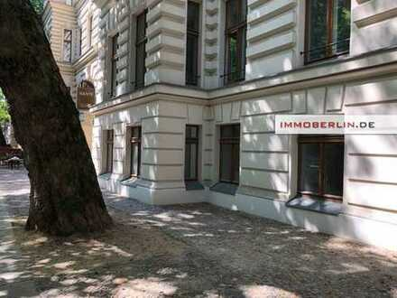 IMMOBERLIN: Ruhelage Kollwitzkiez! Attraktive Gewerbeeinheit im Altbau
