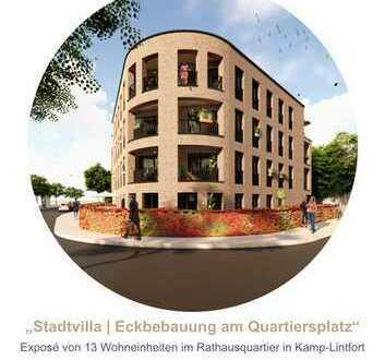 Stadtvilla - 13 Eigentumswohnungen (51m²-79 m²) am Rathausquartier in Kamp-Lintfort