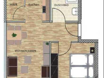 Neuwertige 2-Zimmer-Wohnung mit EBK und Hauswirtschaftsraum in Aschaffenburg