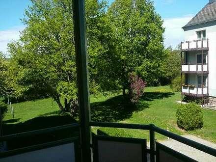 Sanierte 2-Raum-Wohnung mit Balkon im 1. OG