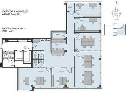 Zeitgemäßes Arbeiten auf ca. 220 m² - mit flexiblem Konferenzraum und kommunikativer Küche!