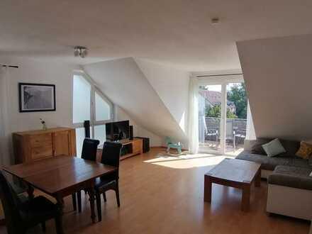 Helle Maisonette-Wohnung mit Süd-Balkon und 4 Zimmern und Einbauküche in Offenburg