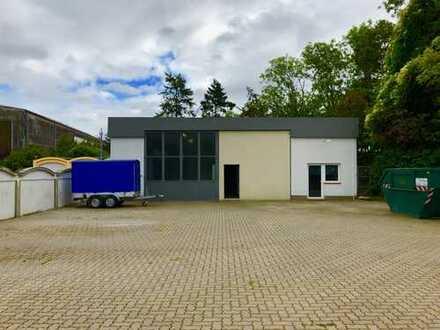 Lager-/Produktionshalle mit 80qm Kühl-/Produktionszelle und Freifläche