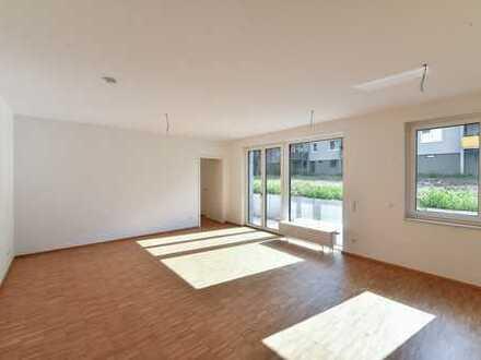 Helle 2 Zimmer-Souterrainwohnung im Neubau