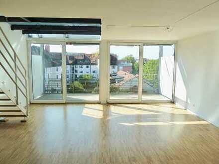 """Große & helle 4,5 Zimmer Maisonette Wohnung über den Dächern des beliebten Konstanzer """"Paradieses"""""""