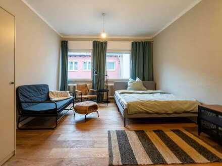 Freundliches 1-Zimmer-Haus zur Miete in Mitte, Stuttgart