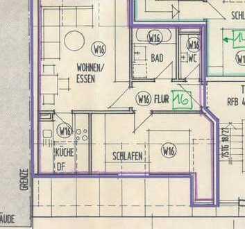 gemütliche 2-Raum-Dachwohnung