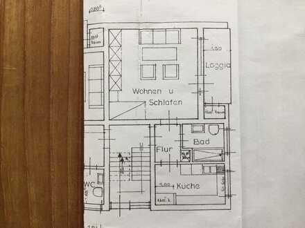 Modernisierte Wohnung mit Balkon in Arnberg-Neheim.