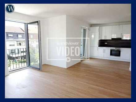 Genieße Dein Leben & die Freizügigkeit in dieser NEUBAU-2-Zimmer-Wohnung mit Einbauküche + Balkon