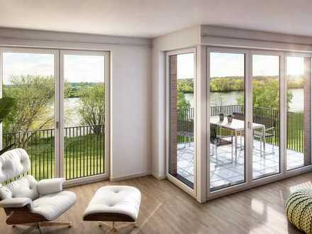Kleines Wohnglück vor den Toren Frankfurts: 1,5-Zimmer-Wohnung mit Balkon und Tageslichtbad