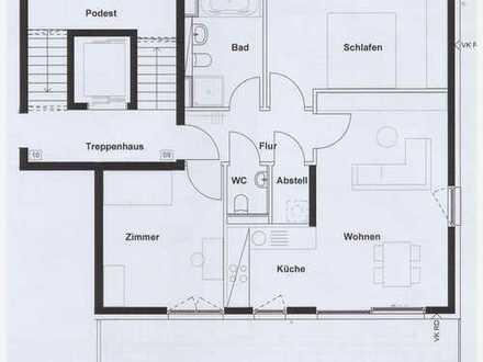 Sonnige, hochwertige 3-Zimmerwohnung