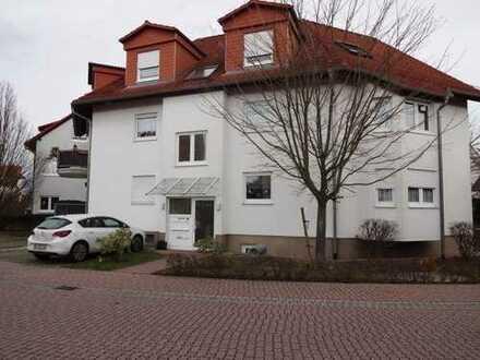 Exklusive, geräumige und sanierte 1-Zimmer-Wohnung mit Balkon und EBK in Hockenheim