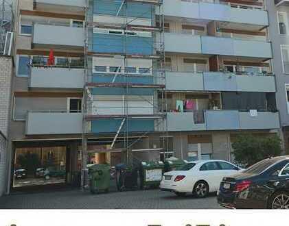 Wohnung mit Westbalkon auf reiner Hofseite