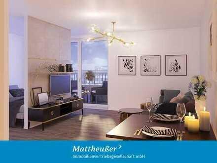 ! Baustellenbesichtigung Fr. & Sa. 14 – 16 Uhr ! 2-Zimmer-Wohnung in Südausrichtung