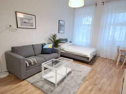 Neu möblierte 1 Zimmer EG Wohnung im Prenzlauer Berg - frei ab sofort