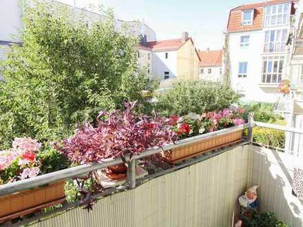 Vermietete Kapitalanlage in idealer Anbindung: 2-Zi.-ETW mit Balkon zwischen Berlin und Frankfurt O.