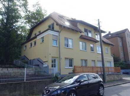 Großzügige 4-Zimmerwohnung mit 2 Bädern, Balkon, Gartennutzung und Doppelhauscharakter in Friedewald