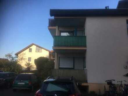 Schöne, kleine 1 Zimmer/Küche/Bad Wohnung mit Balkon in Walldorf (Baden)