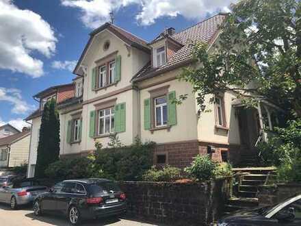 Zentral und ruhiglegene Jugenstilvilla mit 9 - Zimmern im Rhein-Neckar-Kreis, Bammental