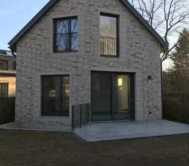 Neubau aus 2016 in Wellingsbüttel - Doppelhaushälfte mit Gartenanteil