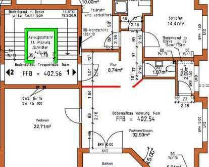 Neuwertige 4-Zimmer-Wohnung mit Balkon und Einbauküche in Friedrichshafen