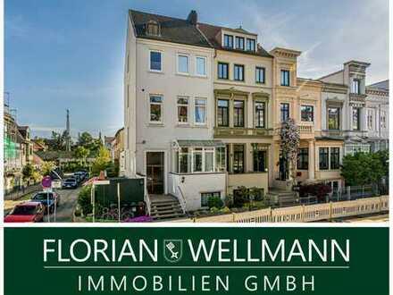 Bremen - Gete | Traumhafte Maisonette-Wohnung mit wunderschöner Dachterrasse in zentraler Lage