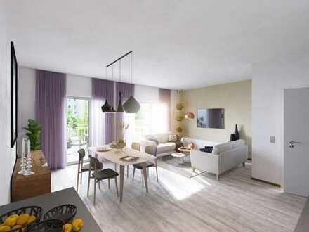 3-Zimmer-Dachgeschoss-Wohnung in ruhiger Lage mit toller Aussicht und großem Balkon