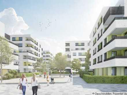 Belchenstraße 8, Neubau, 2-Zimmer, Fenster im Bad, Dachterrasse und Loggia