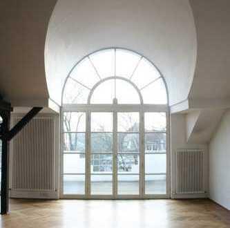 Wohnen mit Homeoffice im Zooviertel: zweigeteilte Maisonette mit 2 Bädern, Balkonen, Studio & Kamin